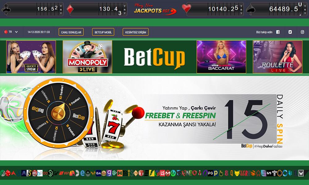 Betcup Bahis ve Casino